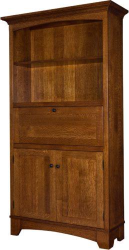 Amish Noble Mission Secretary Bookcase