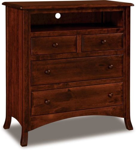 Amish Carlisle Four Drawer Media Chest