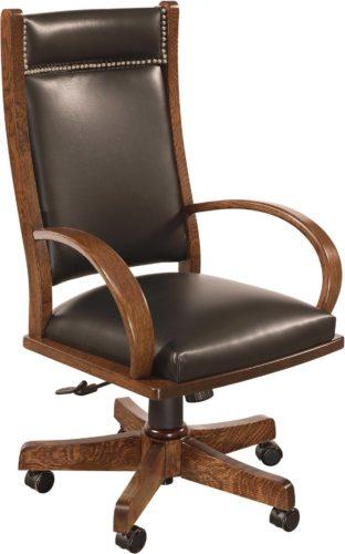 Amish Wyndlot Desk Chair