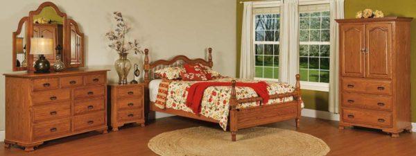 Amish Hoosier Heritage Bedroom Collection