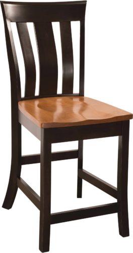 Amish Yorktown Bar Chair