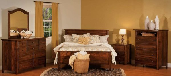 Amish Shaker Style Bedroom Collection