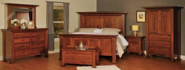 Amish Empire Bedroom Collection