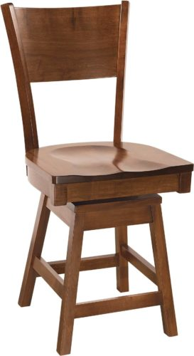 Amish Somerset Swivel Barstool