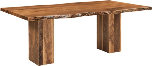 Amish Rio Vista Trestle Dining Table