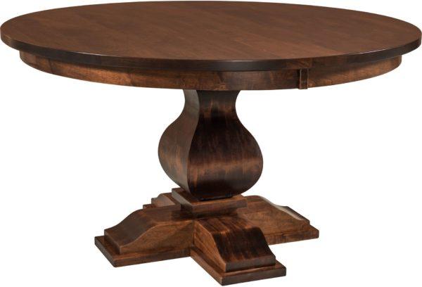 Amish Barrington Single Pedestal Dining Table