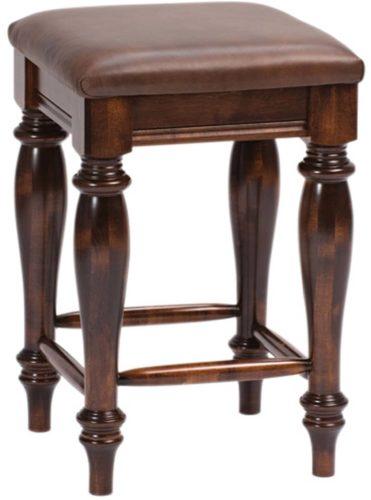 Amish Harvest Backless Bar Chair