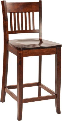 Amish Frankton Stationary Bar Chair