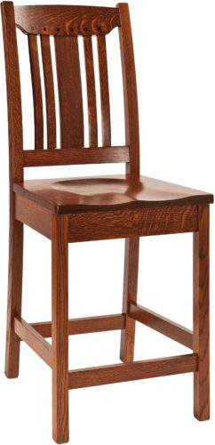 Amish Grant Bar Chair