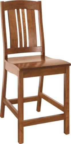 Amish Carolina Bar Chair