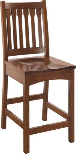 Amish Buchanan Bar Chair