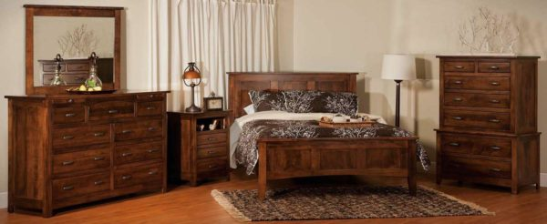 Amish Flush Mission Bedroom Collection