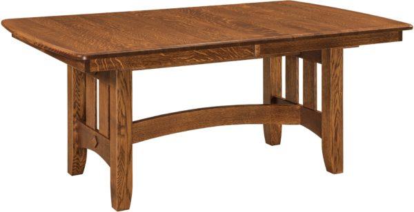 Amish Galena Trestle Table