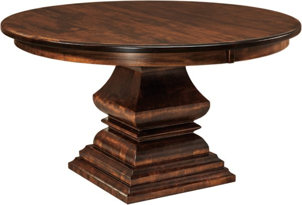 Amish Bradford Pedestal Table