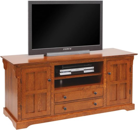 Amish 60 inch Mission Hills T.V. Stand
