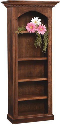 Amish 72 inch Cambridge Bookcase