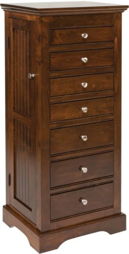 Amish Beaded Jewelry Armoire