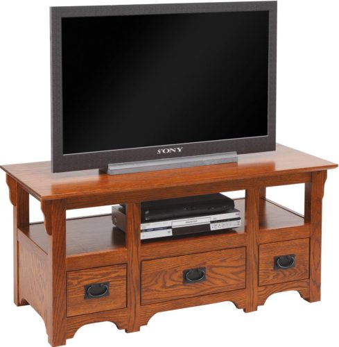 Amish Bungalow Mission T.V. Stand