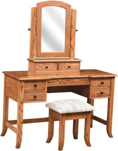 Amish Bunkerhill Dressing Table Oak
