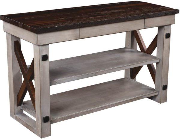 Amish Deco River Console Table
