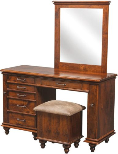 Amish Plymouth Jewelry Dressing Table