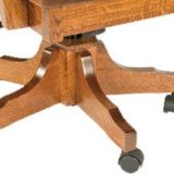 Wyndlot Hardwood Desk Chair with Mission Gas Lift