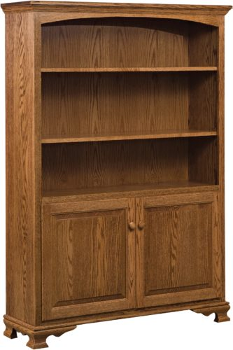 Amish Heritage Bookcase with Doors 48