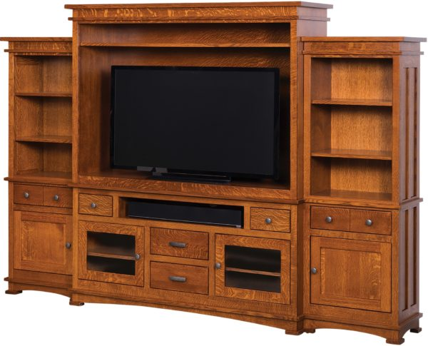 Amish Kenwood Entertainment Center