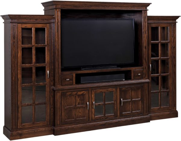 Amish Madison Entertainment Center