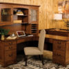 Custom Amish Noble Mission L Shaped Desk