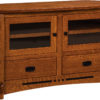 Amish Large Colebrook Corner TV Stand