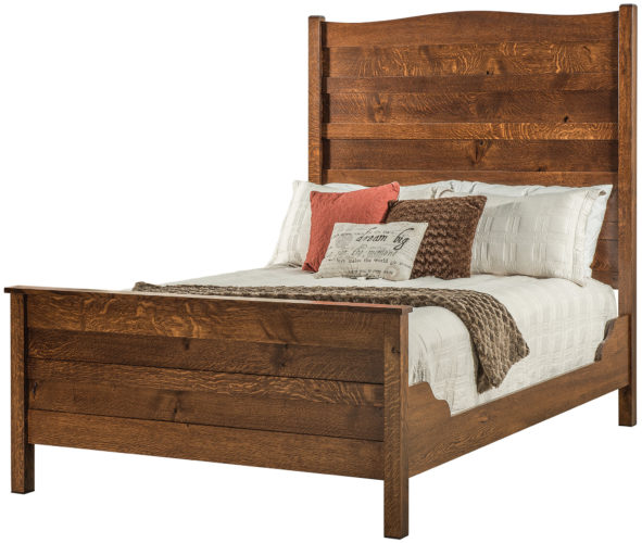 Colonial Mission Bed