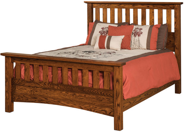 Amish Schrock Mission Bed