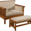 Amish Highback Slatted Chair