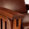 Amish McCoy Recliner Arm Close-Up