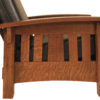 Amish McCoy Morris Side Slat Detail
