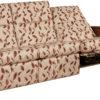 Amish Skyline Panel Sofa Recliner