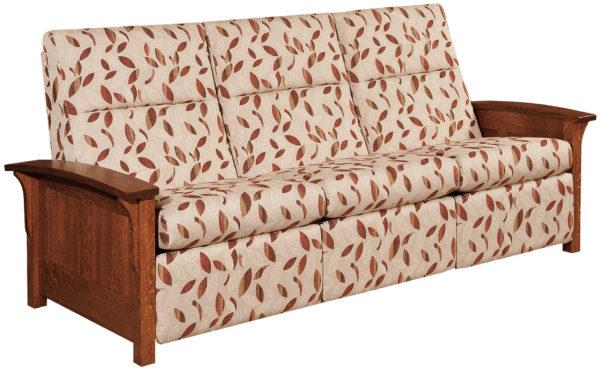Amish Skyline Panel Sofa