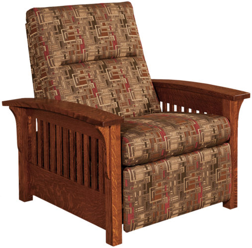 Amish Skyline Slat Recliner