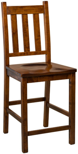 Amish Denver Stationary Bar Chair