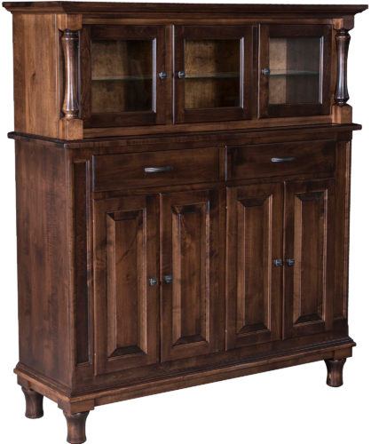 Custom 56 inch Roxbury Hutch