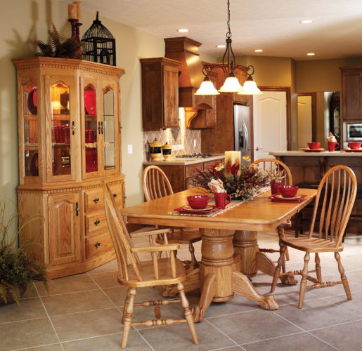 Custom Canted Dining Collection