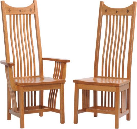 Custom Classic Mission Chair