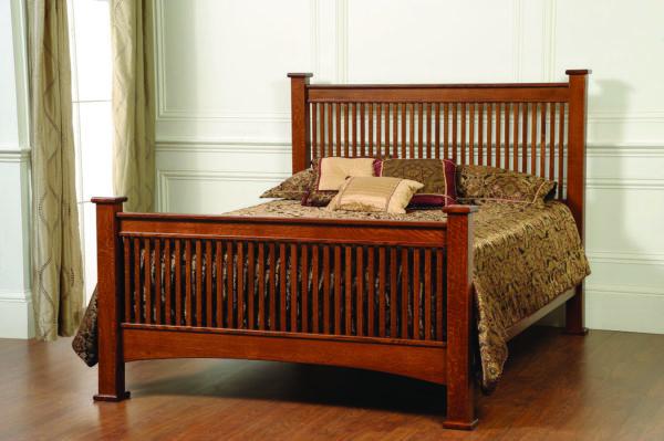 Amish Ridge Mission Bed