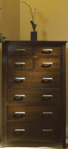 Amish Cambrai Mission Chest of Drawers