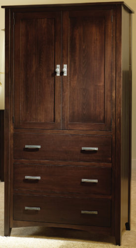 Amish Cambrai Mission Armoire