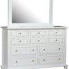 Amish Woodberry 10 Drawer Dresser