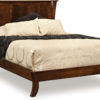 Amish Caledonia Low Footboard Bed