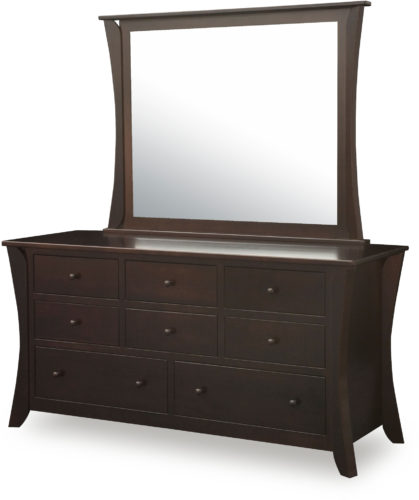 Amish Caledonia 8 Drawer Dresser