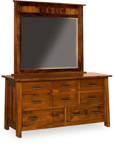 Amish Freemont Mission Dresser with Mirror